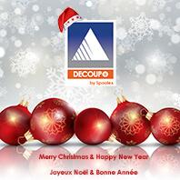 Bonne année de la part de Découp+, votre spécialiste de la soudure ultrason